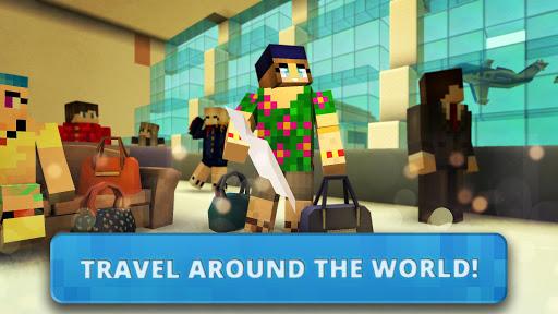 Airport Craft: Fly Simulator Boys Craft Building  screenshots 3