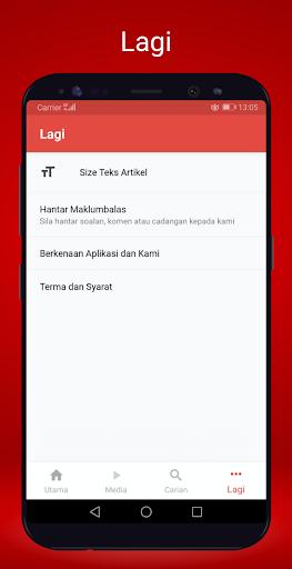 Berita Harian Mobile 2.8.3 screenshots 5