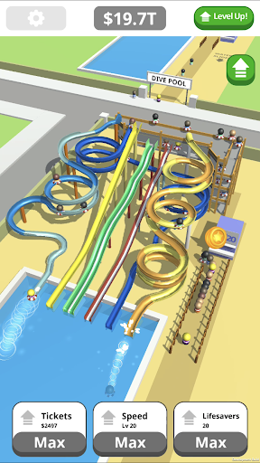 Idle Tap Splash Park 2.7.0 screenshots 1