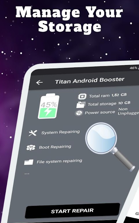 Titan Booster - Instantly Speed Up Your Phone  poster 9
