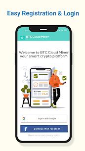 BTC Cloud Miner Pro Apk – Free Mobile Bitcoin Mining Pro APK ** 2021 NEW 1