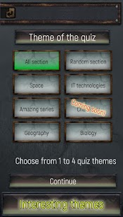 Trivia Quiz: All about everything! Screenshot
