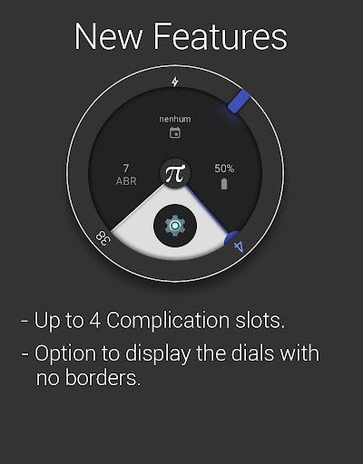 Material Pi Watch Face - π  screenshots 11