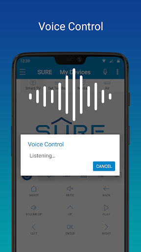 SURE - Smart Home and TV Universal Remote