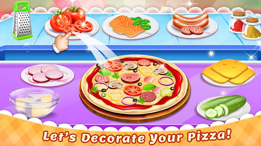 Cooking Pizza Maker Kitchen Food Cooking Games 0.12 screenshots 5