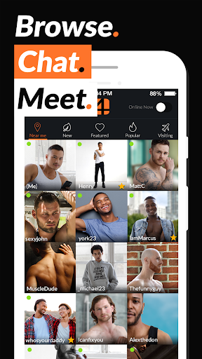 Adam4Adam - Gay Chat & Dating App - A4A - Radar  Screenshots 1