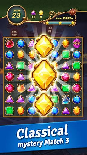 Jewel Castle™ - Classical Match 3 Puzzles modiapk screenshots 1