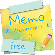 Sticky Memo Notepad *Watercolor* 2 Free