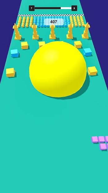Screenshot 7 de Grande Bola Bache 3D para android