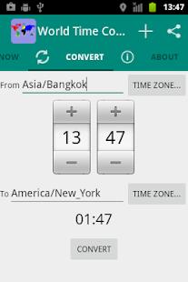 World Time Zone Converter