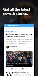 ESPNCricinfo - Live Cricket Scores, News & Videos 7.1 Screenshots 4