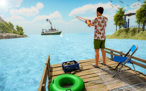Reel Fishing Sim 2021 : Ace Fishing Game screenshots 5