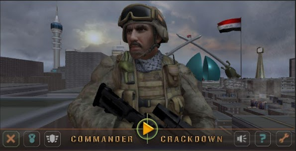 Commander Crackdown Golden Division Hack for Android and iOS 2