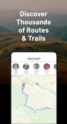 REVER - Motorcycle GPS, Route Planner & Discover screenshots 1