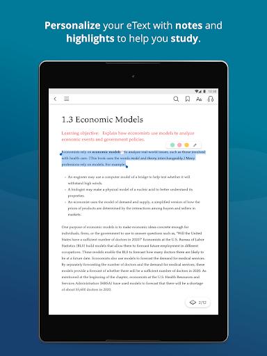 Pearson eText modavailable screenshots 8