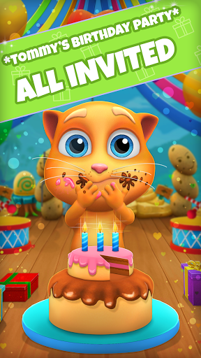 My Talking Cat Tommy - Virtual Pet apktram screenshots 1