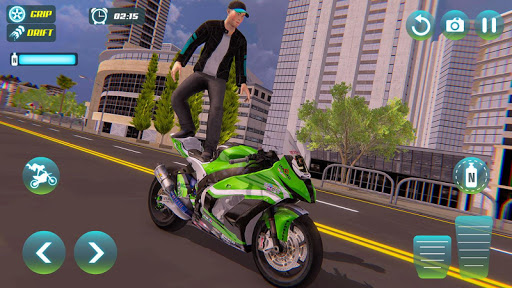 City Bike Driving Simulator-Real Motorcycle Driver screenshots 10