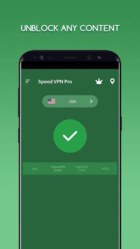 Speed VPN Pro-Fast, Secure, Free Unlimited Proxy  screenshots 2
