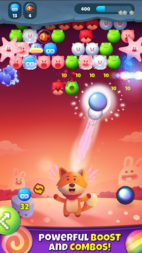 Bubble Shooter Pop Mania apkpoly screenshots 4