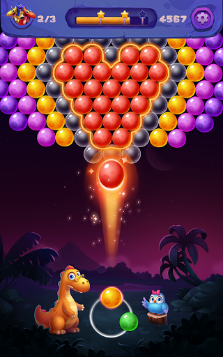 Bubble Shooter: Primitive Dinosaurs - Egg Shoot 1.04 screenshots 9