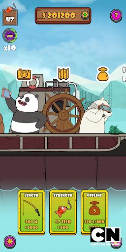 We Bare Bears: Crazy Fishing  screenshots 6