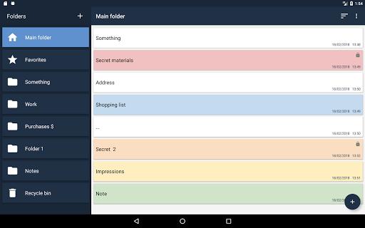 Notepad Notes android2mod screenshots 9