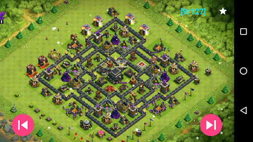 Maps of Coc TH9 1.1.3 Screenshots 8