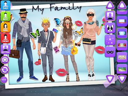 Superstar Family - Celebrity Fashion screenshots 11