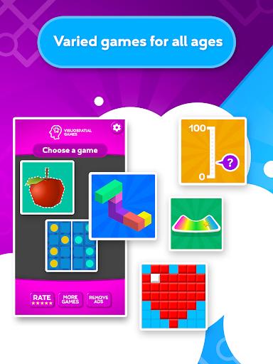 train your brain - visuospatial games screenshot 3