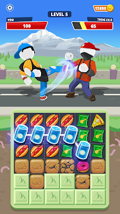 Match Hit Mod Apk- Puzzle Fighter (God Mode) 2