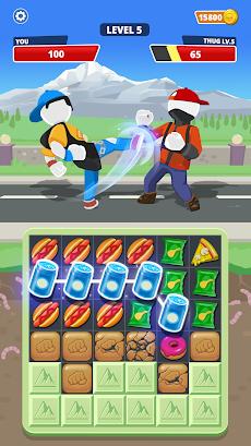 Match Hit - Puzzle Fighterのおすすめ画像2