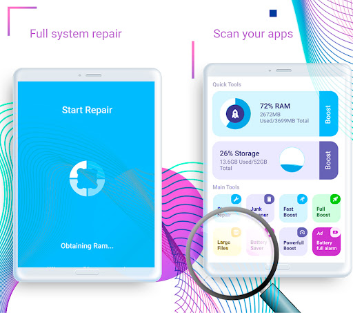 Repair system for Android: Phone Cleaner & Booster android2mod screenshots 8