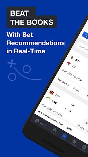 BetQL - Sports Betting Data 4.4.4 screenshots 1