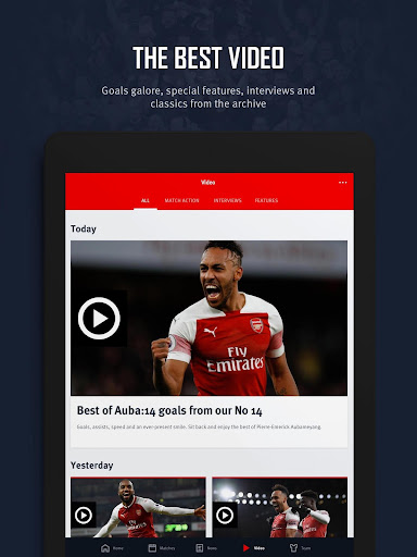 Arsenal Official App 6.0.3 Screenshots 15