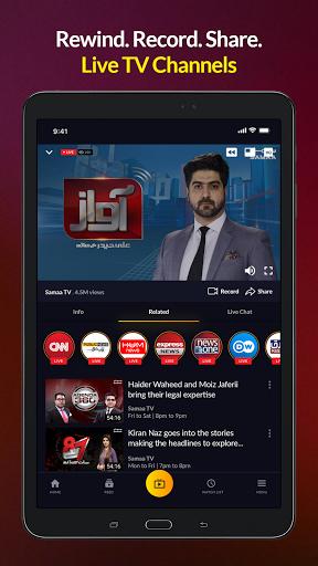 mjunoon.tv: Watch PSL 6 2021 Live and Free  Screenshots 10