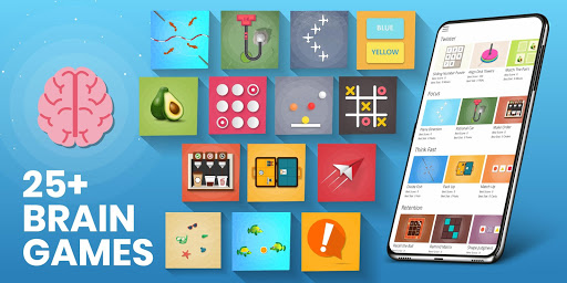 Brain Games For Adults - Brain Training Games Latest screenshots 1