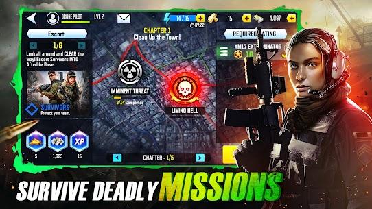 Drones 4: Zombie Strike MOD APK 1.19.252 (Unlimited Money) 4