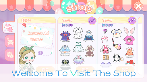 YOYO Doll - dress up games, avatar maker  screenshots 4
