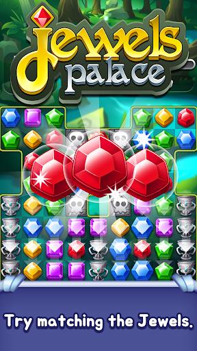 Jewels Palace: World match 3 puzzle master apkslow screenshots 9