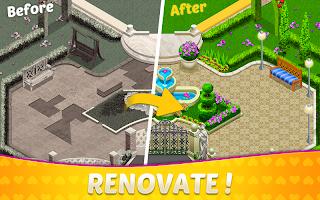 Home Design & Mansion Decorating Games Match 3