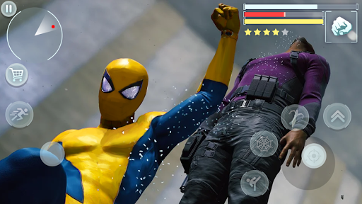 Spider Hero - Super Crime City Battle android2mod screenshots 5