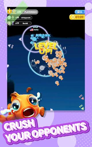 Fish Go.io - Be the fish king Apkfinish screenshots 7