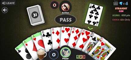 Gin Rummy - Free Offline Card Game