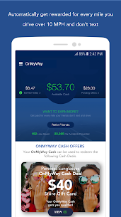 OnMyWay: Drive Safe, Get Paid 2