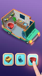 Cube Crush: Schermata dell'avventura enigmistica misteriosa