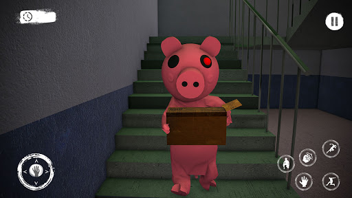 Piggy Family 3D: Scary Neighbor Obby House Escape screenshots 9