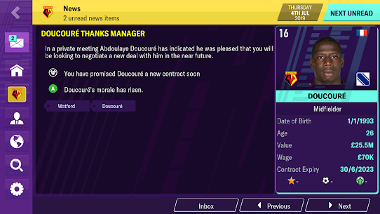 Football Manager 2020 Mobile 7