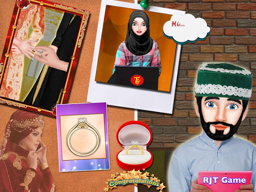 Hijab Muslim Wedding Girl Big Arranged Marriage  Screenshots 6