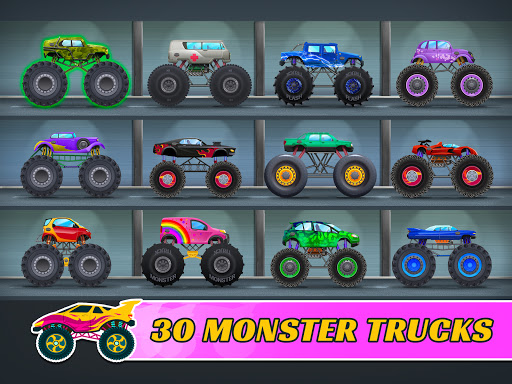 Monster Trucks: Racing Game for Kids Fun  screenshots 8
