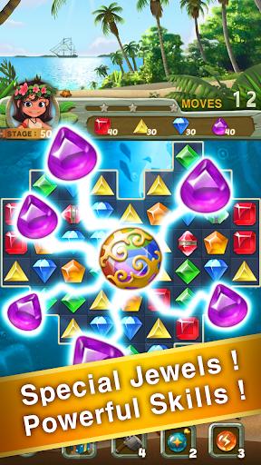 Paradise Jewel: Match 3 Puzzle  screenshots 11
